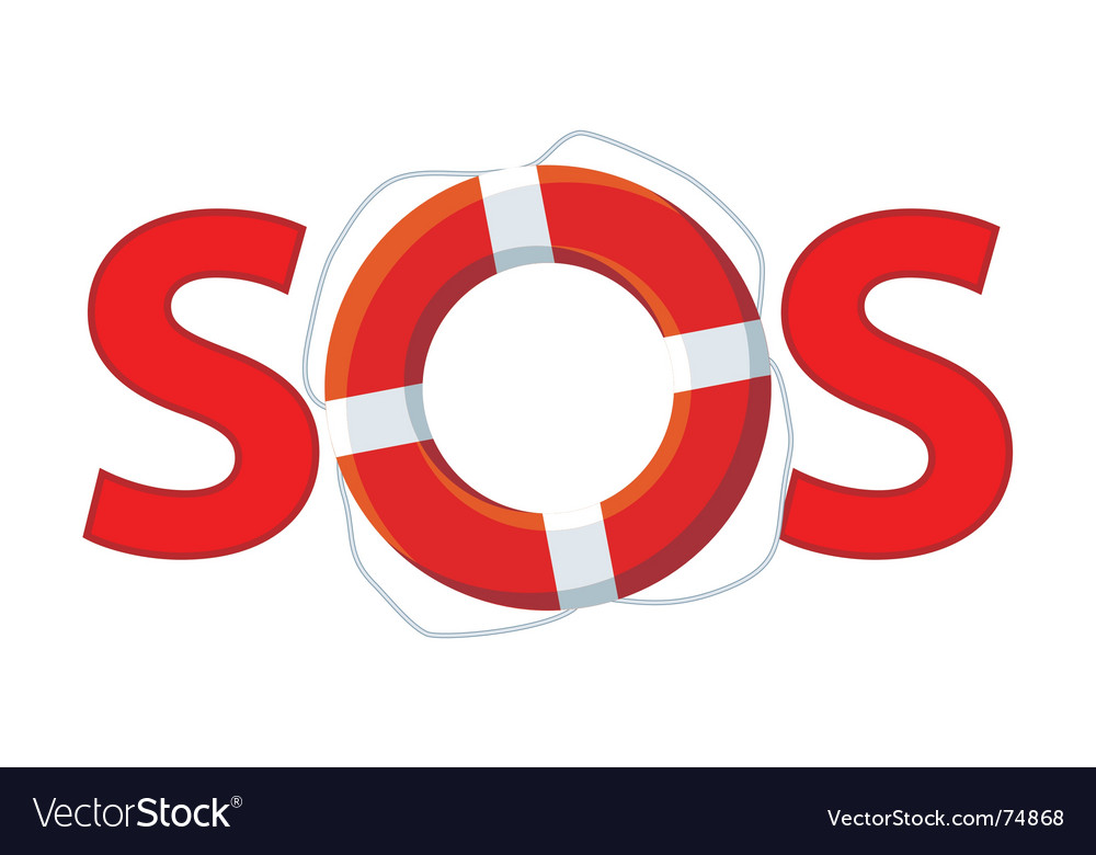 Sos vector | Price: 1 Credit (USD $1)