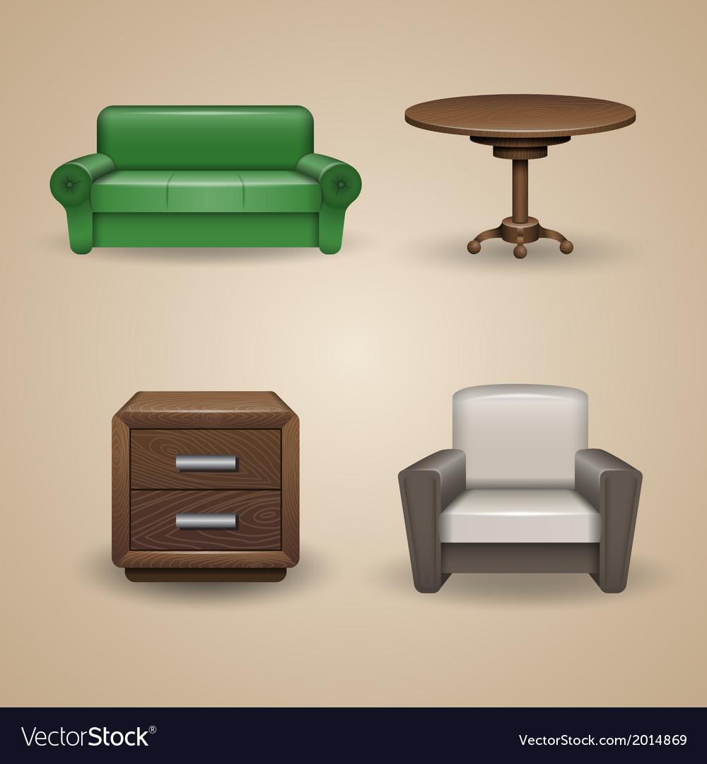 Furniture vector | Price: 3 Credit (USD $3)