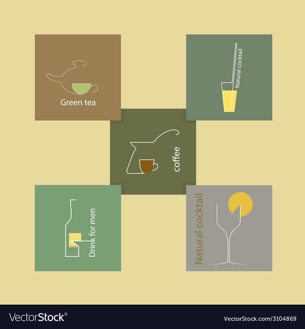 Set of original symbols and icons vector | Price: 1 Credit (USD $1)