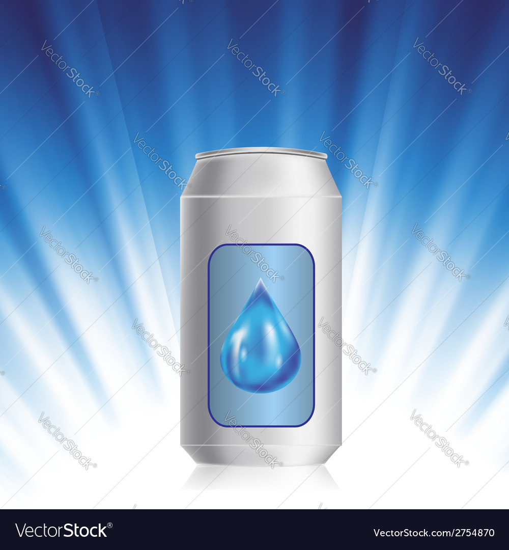 Drink can vector | Price: 1 Credit (USD $1)