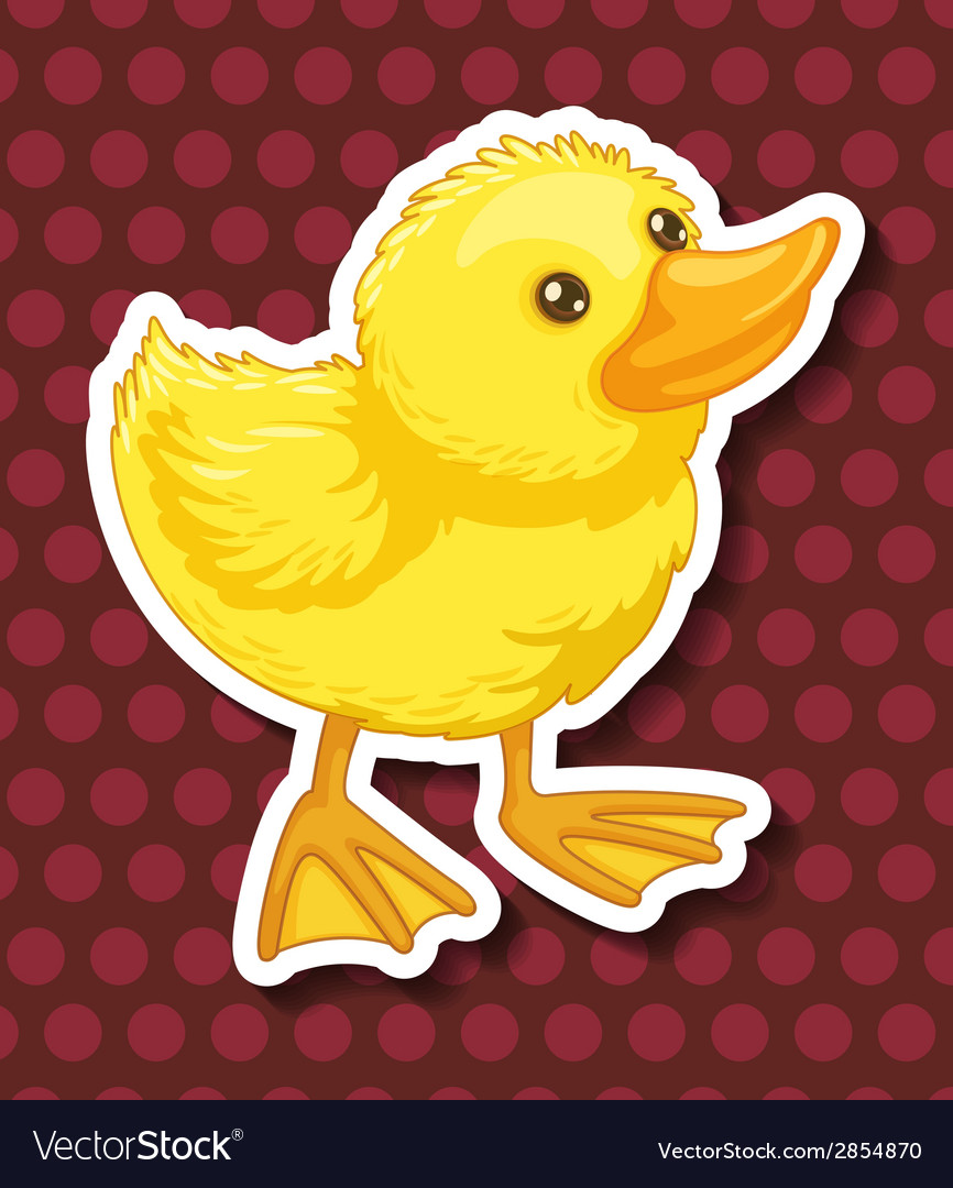 Duckling vector | Price: 1 Credit (USD $1)