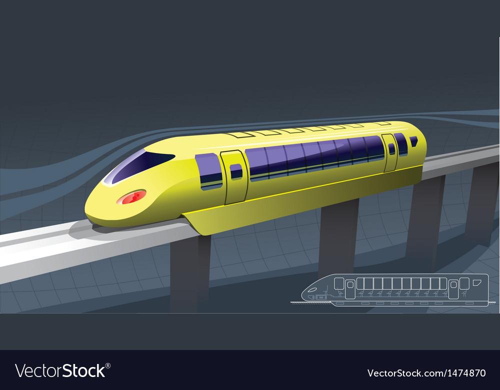 Fast train vector   Price: 1 Credit (USD $1)