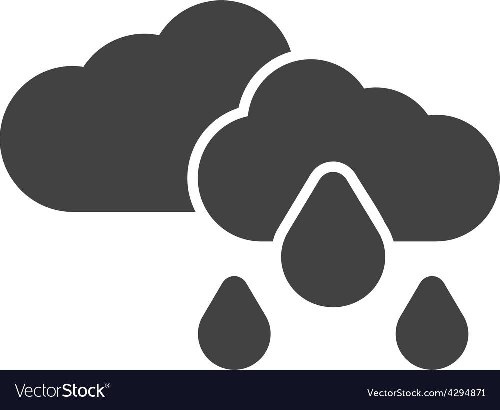 Light rain vector | Price: 1 Credit (USD $1)