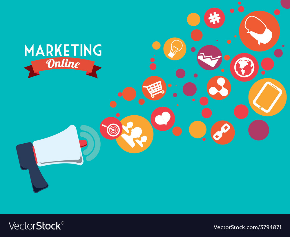 Marketing online vector   Price: 1 Credit (USD $1)