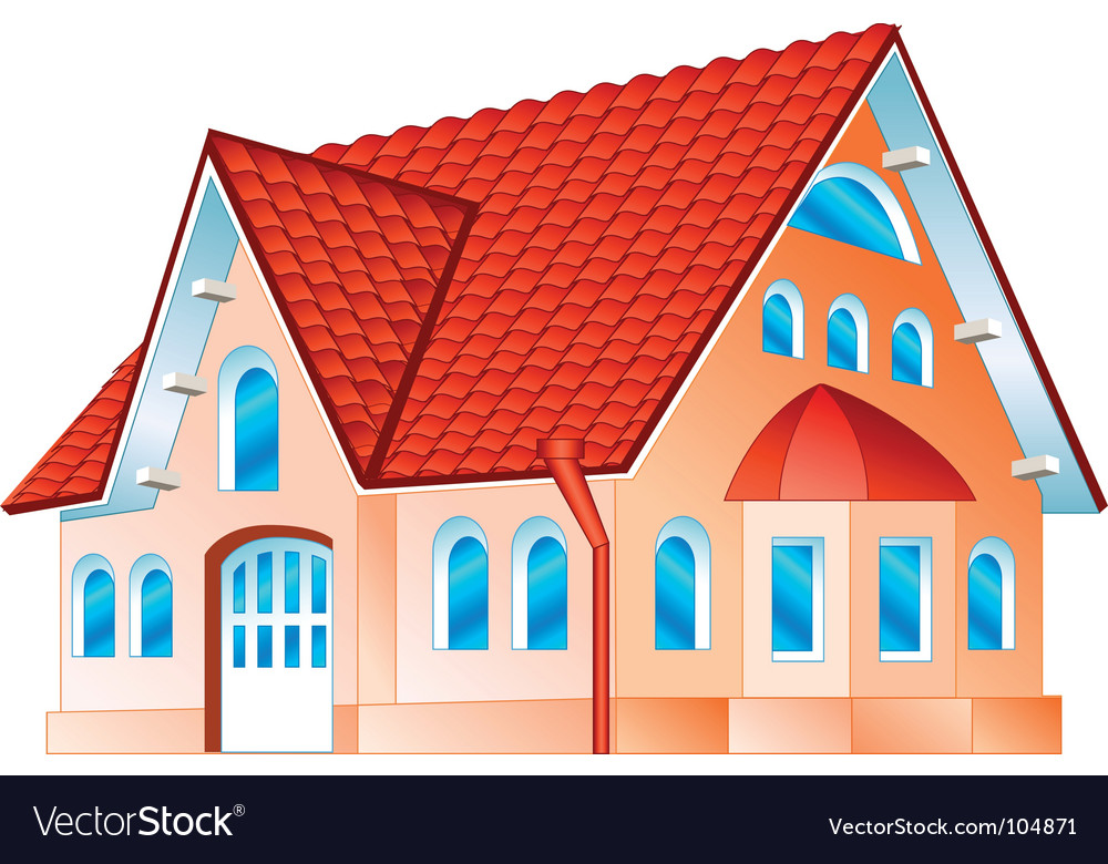 Private residence vector | Price: 1 Credit (USD $1)