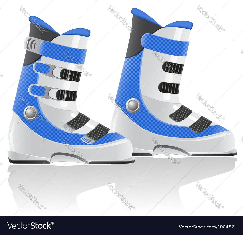 Ski equipment 02 vector | Price: 1 Credit (USD $1)
