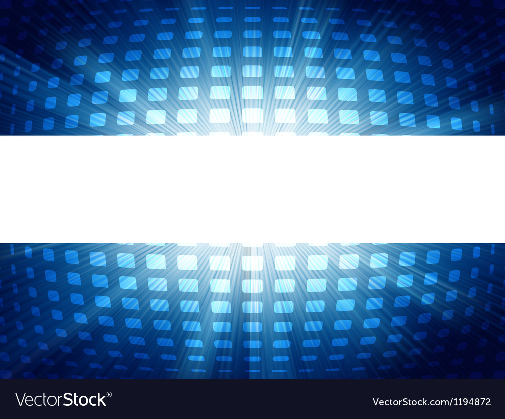Abstract blue and white futuristic eps 8 vector | Price: 1 Credit (USD $1)