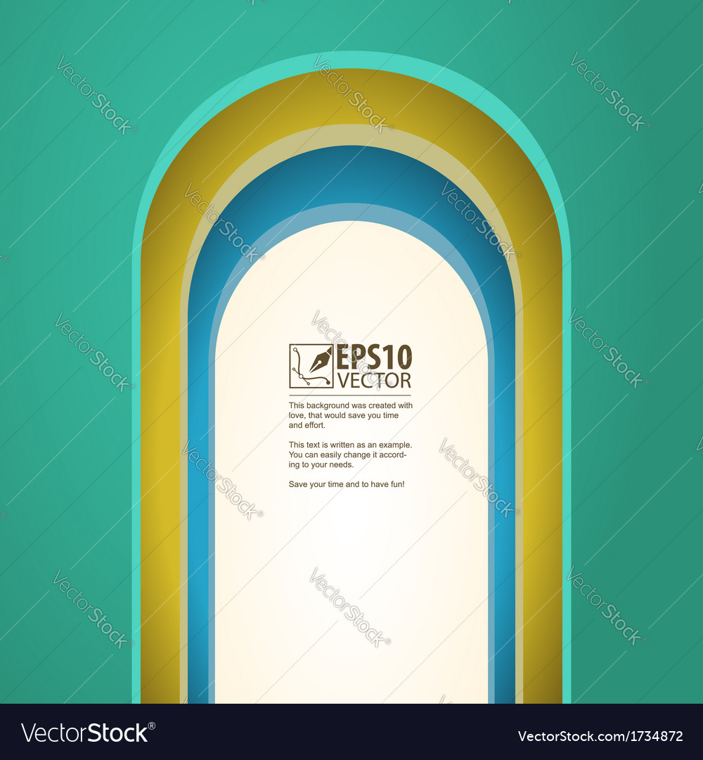 Arch background with arches vector | Price: 1 Credit (USD $1)