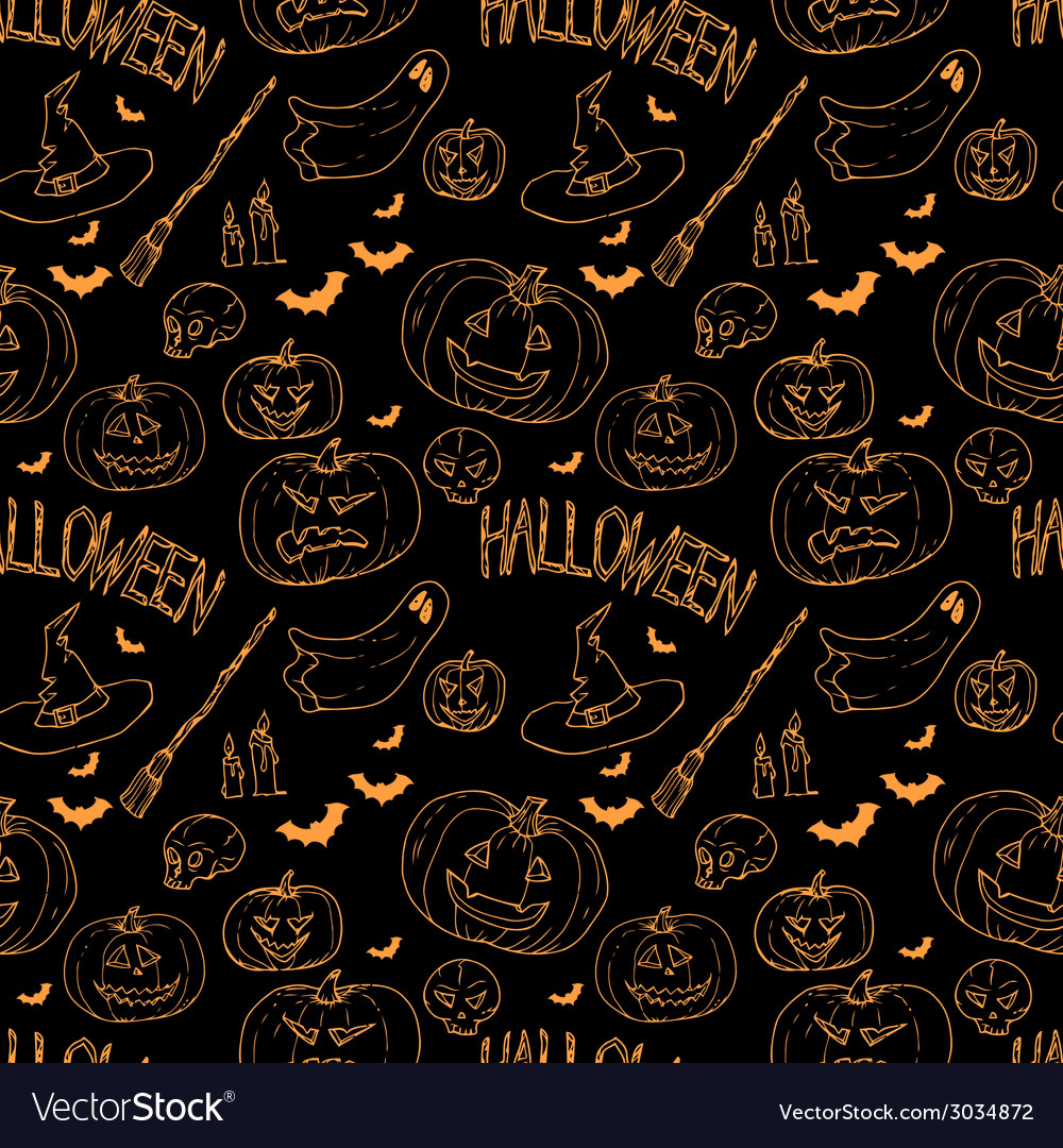 Festive decoration pumpkins vector | Price: 1 Credit (USD $1)