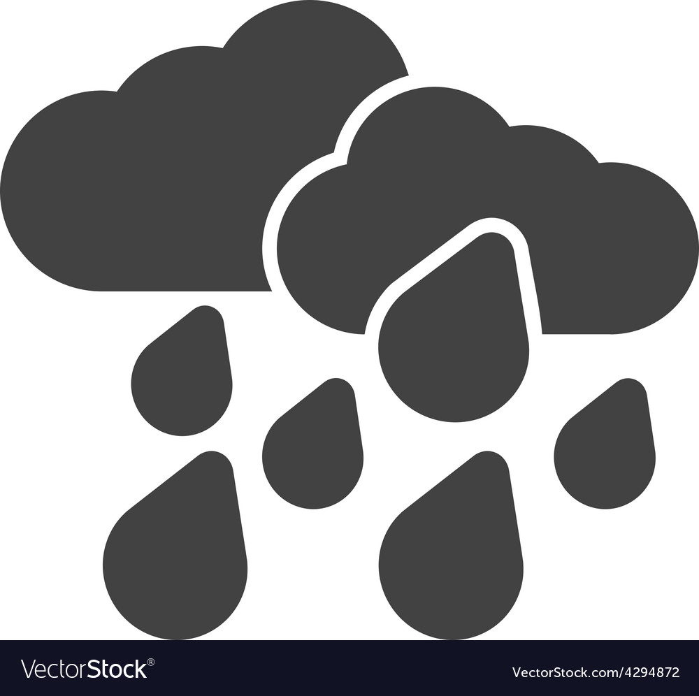 Heavy rain vector | Price: 1 Credit (USD $1)