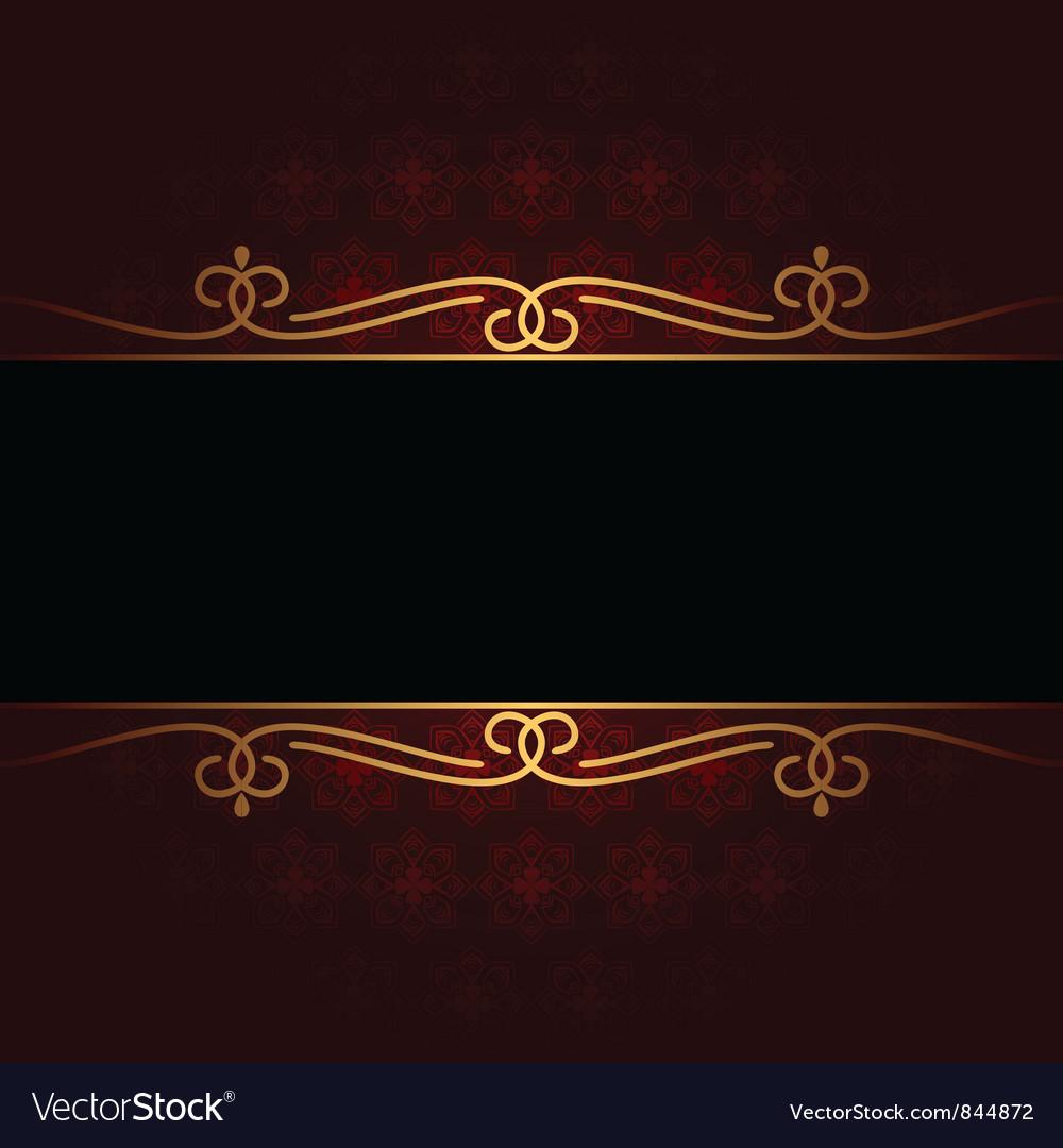 Red vintage background vector | Price: 1 Credit (USD $1)