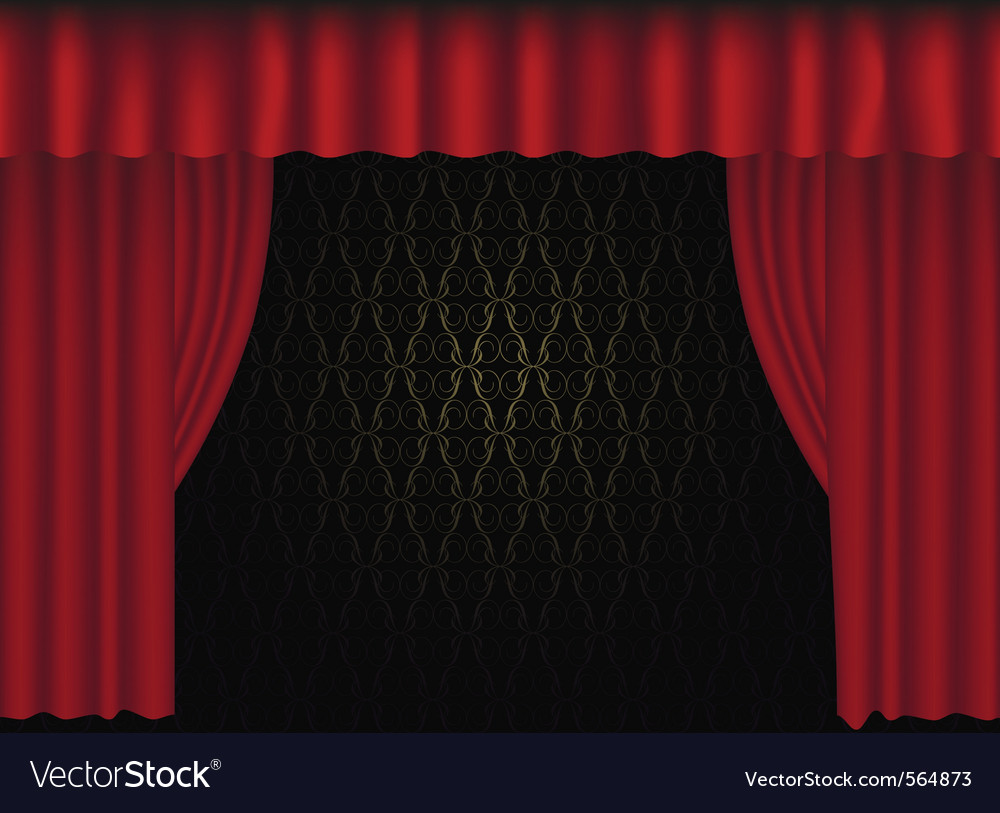 Tre curtain vector | Price: 1 Credit (USD $1)