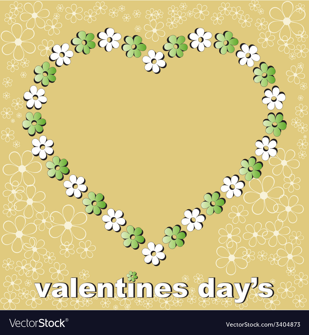 Valentines day one vector | Price: 1 Credit (USD $1)
