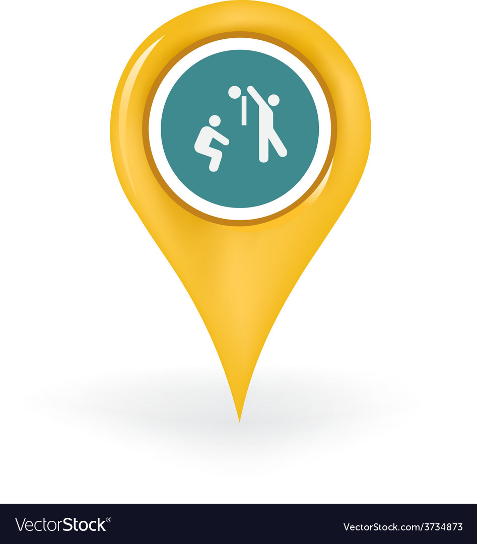 Volleyball location vector | Price: 1 Credit (USD $1)