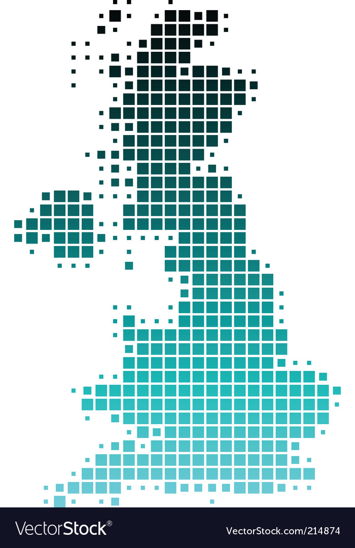 Map of great britain vector   Price: 1 Credit (USD $1)