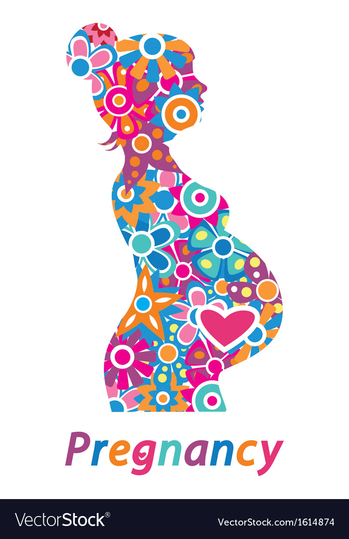 Pregnancy vector | Price: 1 Credit (USD $1)