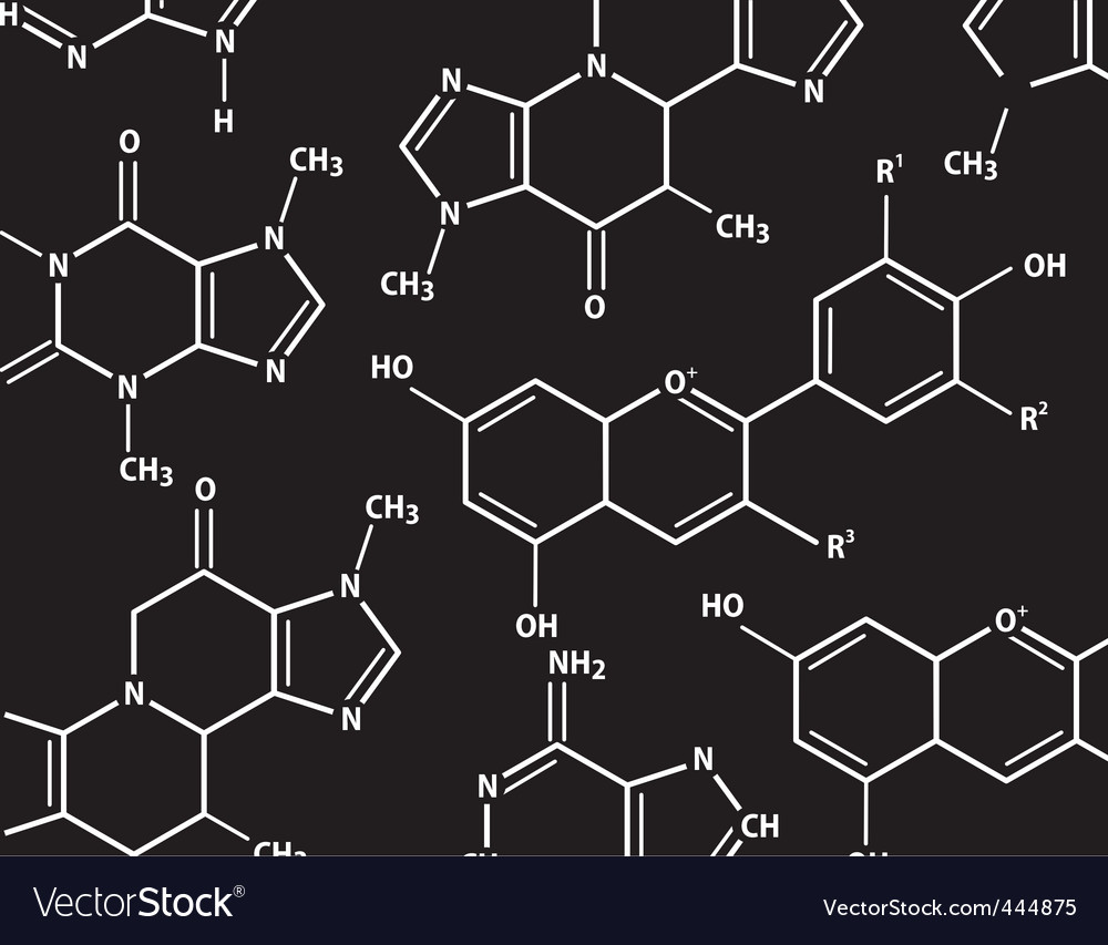 Chemistry formulas vector | Price: 1 Credit (USD $1)