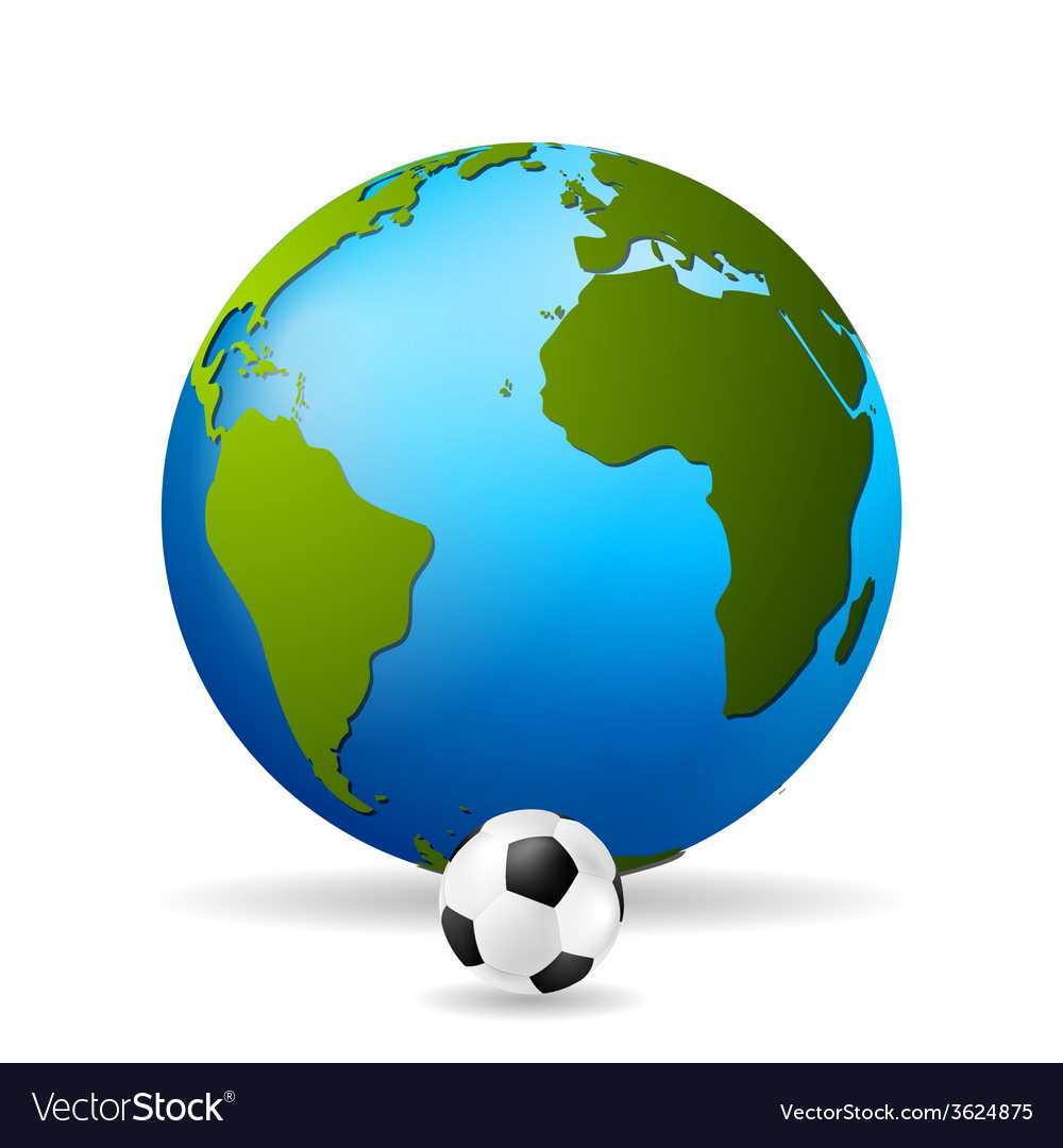 Concept soccer background vector | Price: 1 Credit (USD $1)