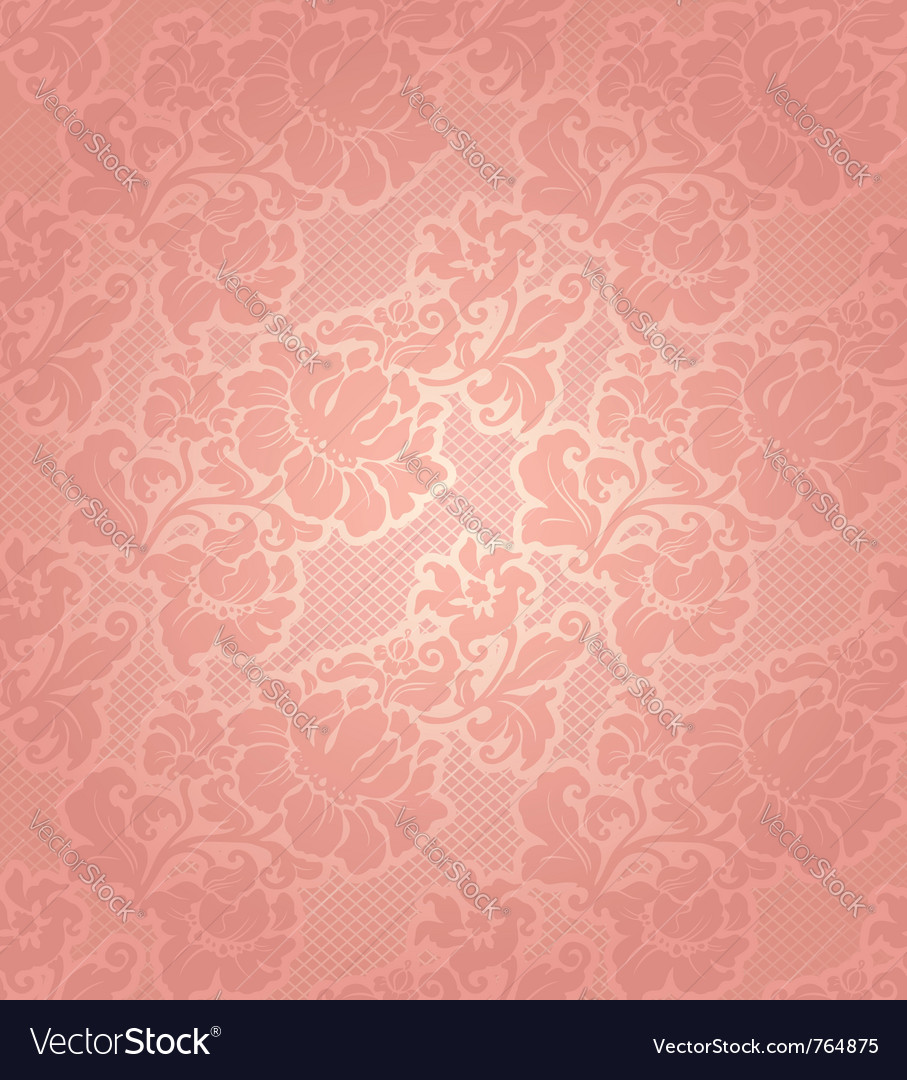 Floral ornamental background vector | Price: 1 Credit (USD $1)