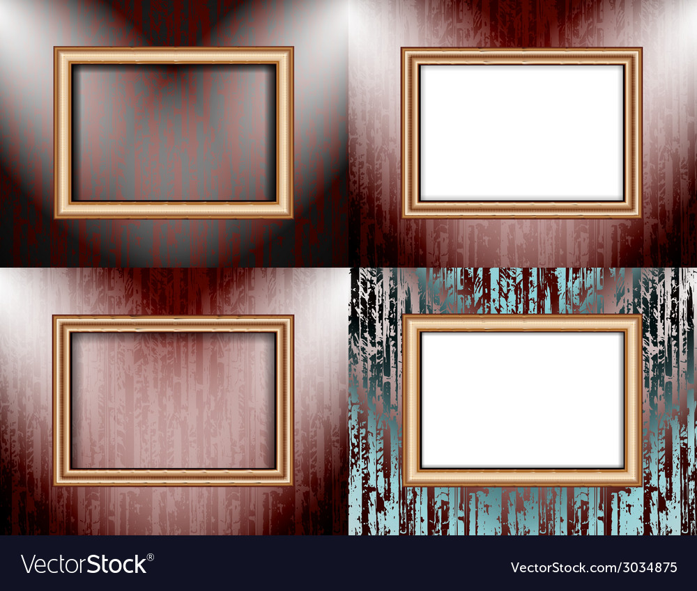 Set of background with frames and spotlights vector   Price: 1 Credit (USD $1)