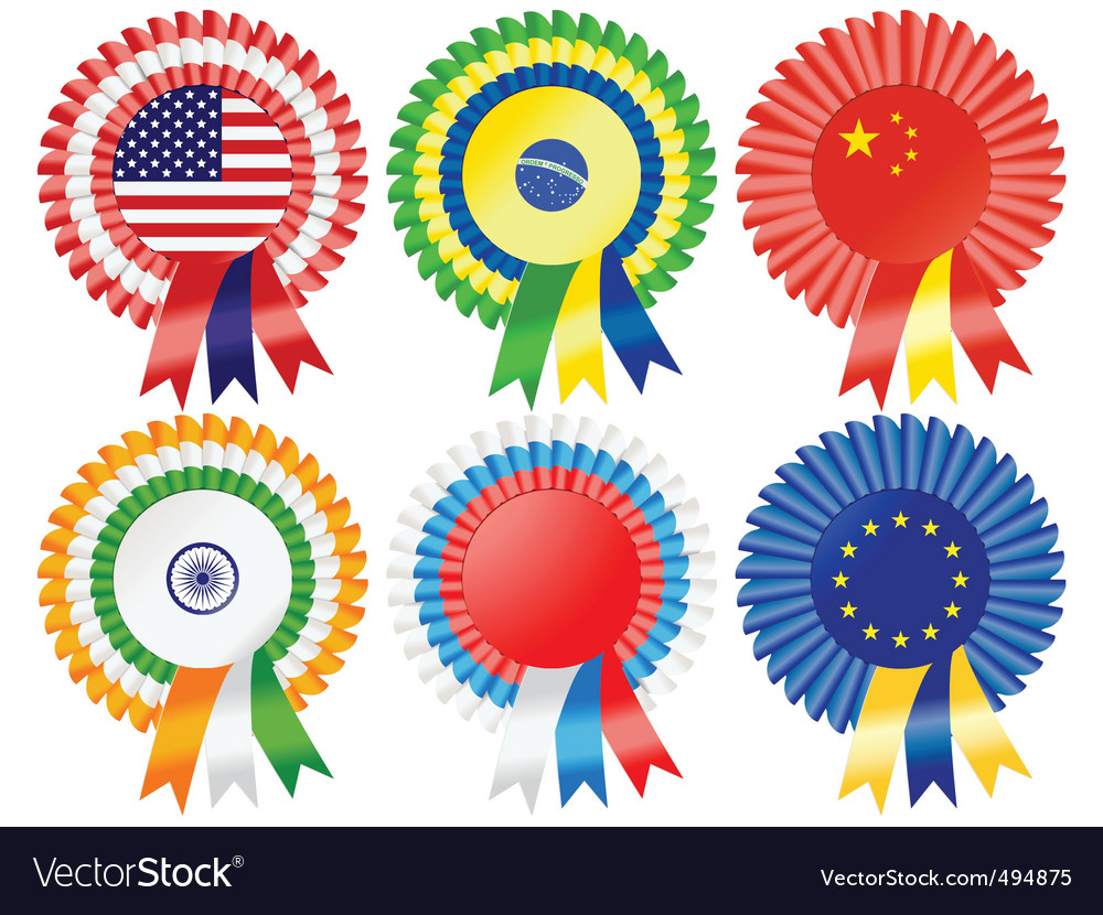 Super power rosettes vector | Price: 1 Credit (USD $1)