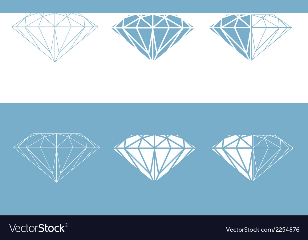 Diamond collection vector | Price: 1 Credit (USD $1)