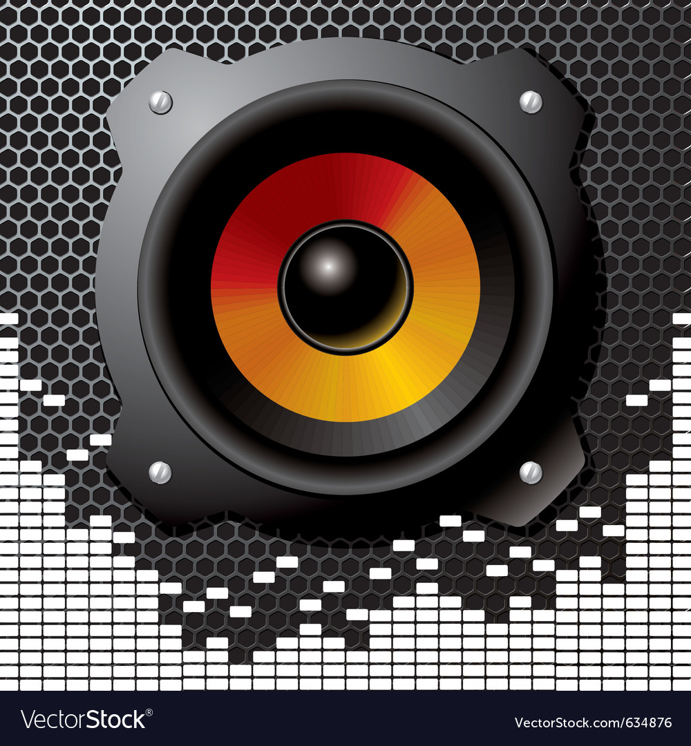 Speaker sound vector | Price: 3 Credit (USD $3)