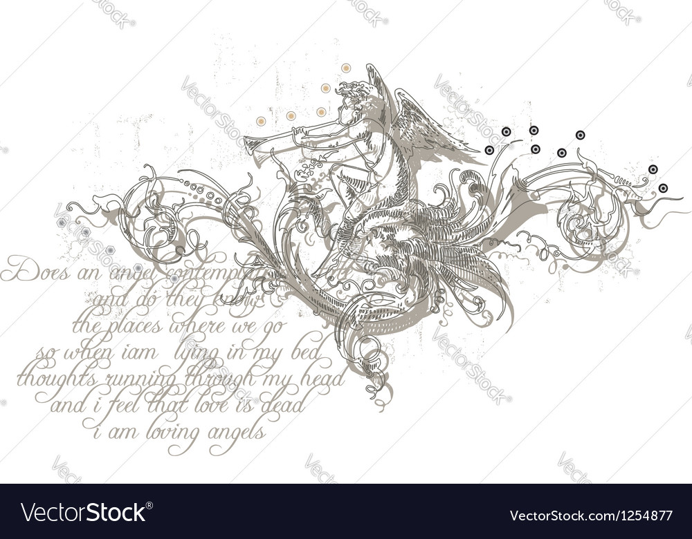 Angels melody vector | Price: 1 Credit (USD $1)