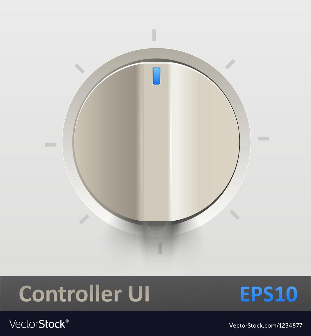 Control knob regulator vector | Price: 1 Credit (USD $1)