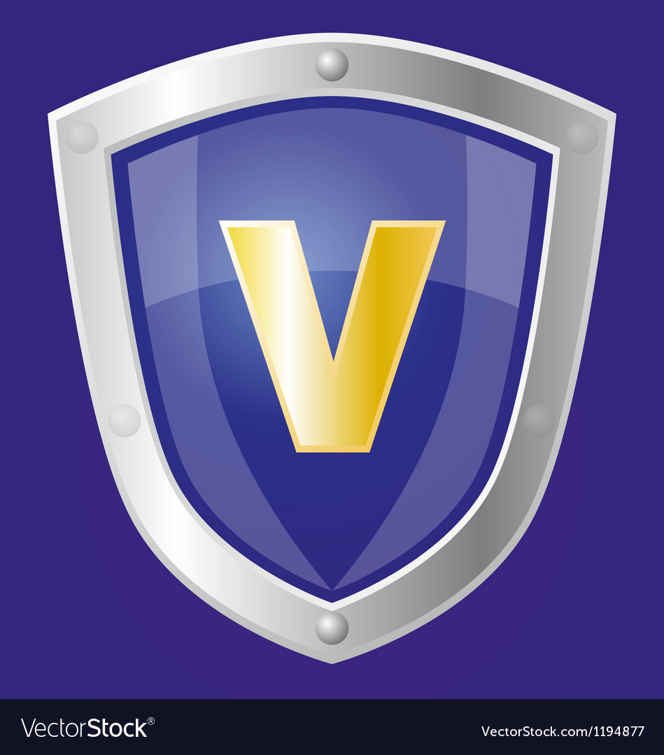 Sapphire shield vector | Price: 1 Credit (USD $1)