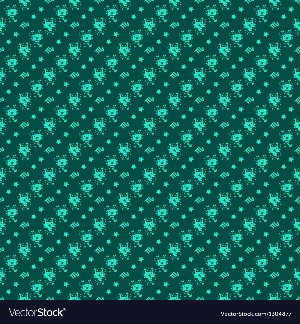Scorpio constellation pattern design vector | Price: 1 Credit (USD $1)