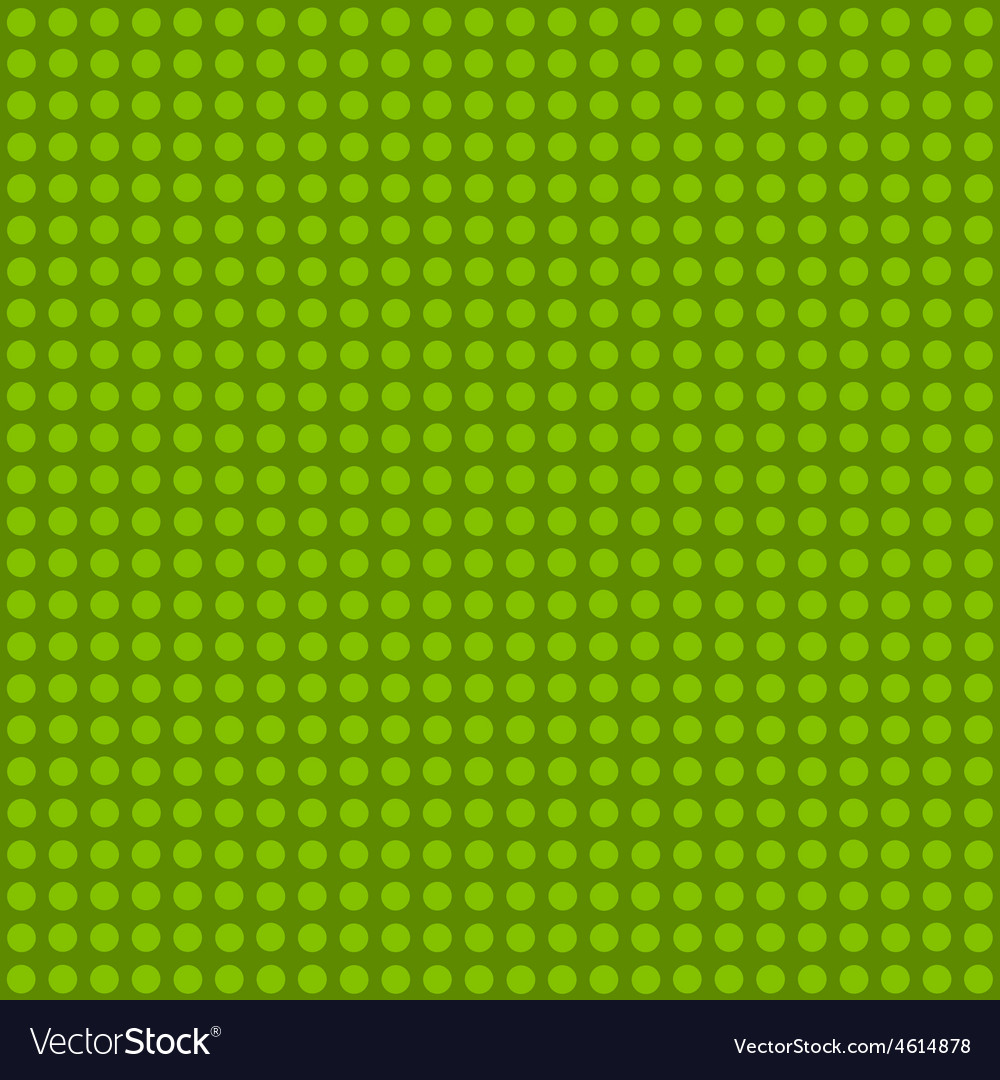 Seamless green polka dot patternn vector | Price: 1 Credit (USD $1)