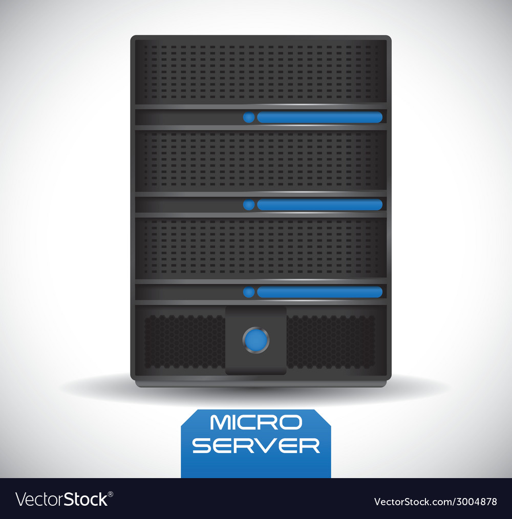 Server design vector | Price: 1 Credit (USD $1)