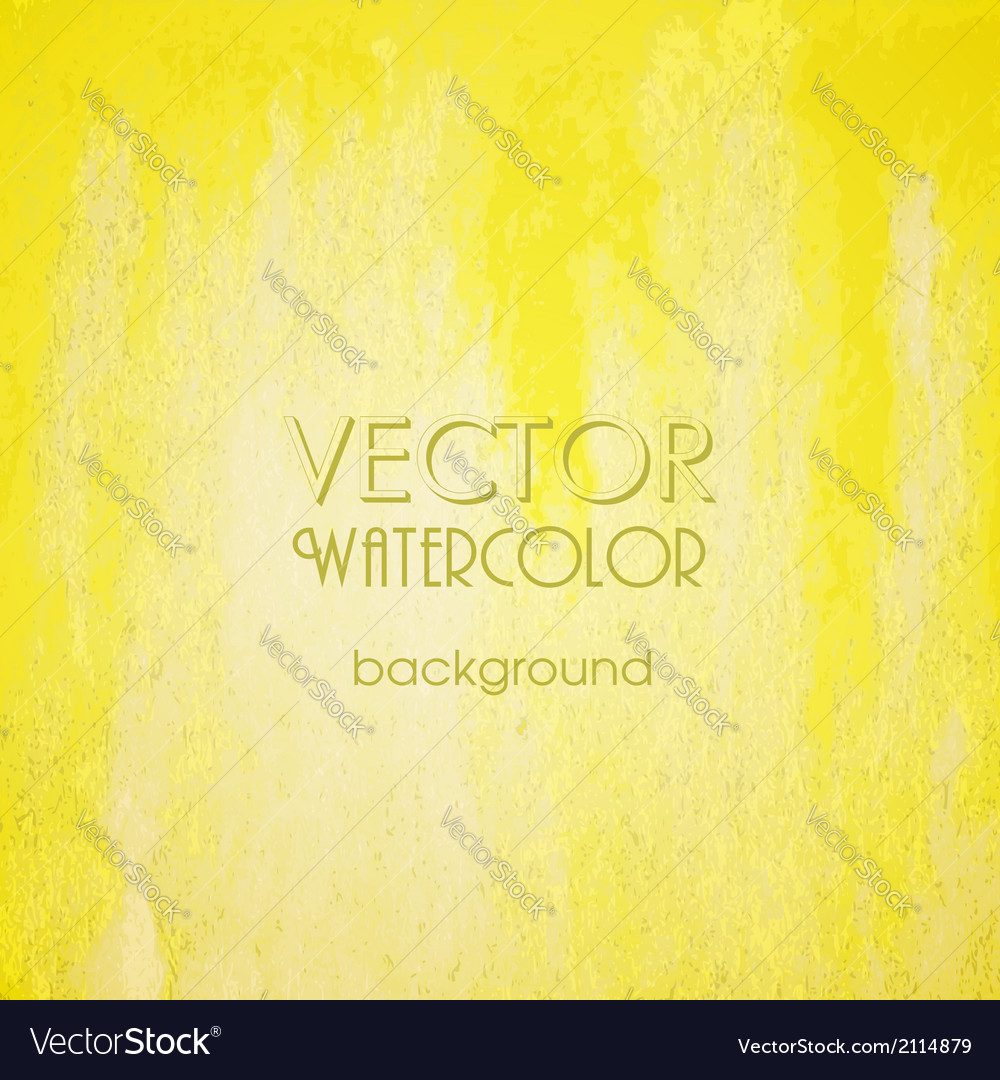 Abstract yellow blurred background vector | Price: 1 Credit (USD $1)