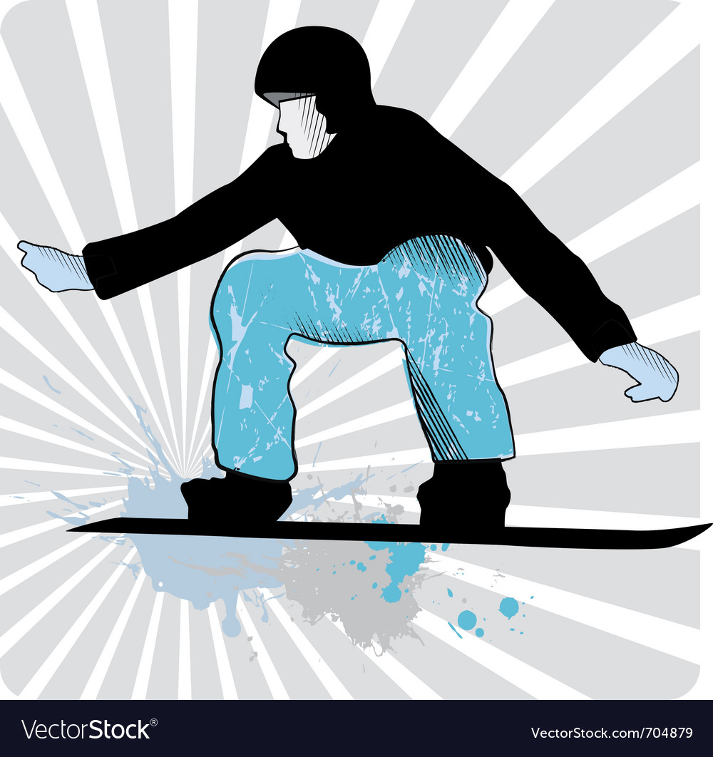 Collection of snowboard skiers vector | Price: 1 Credit (USD $1)