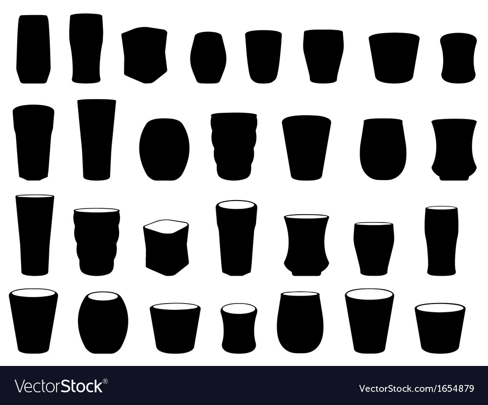Drink glass vector | Price: 1 Credit (USD $1)