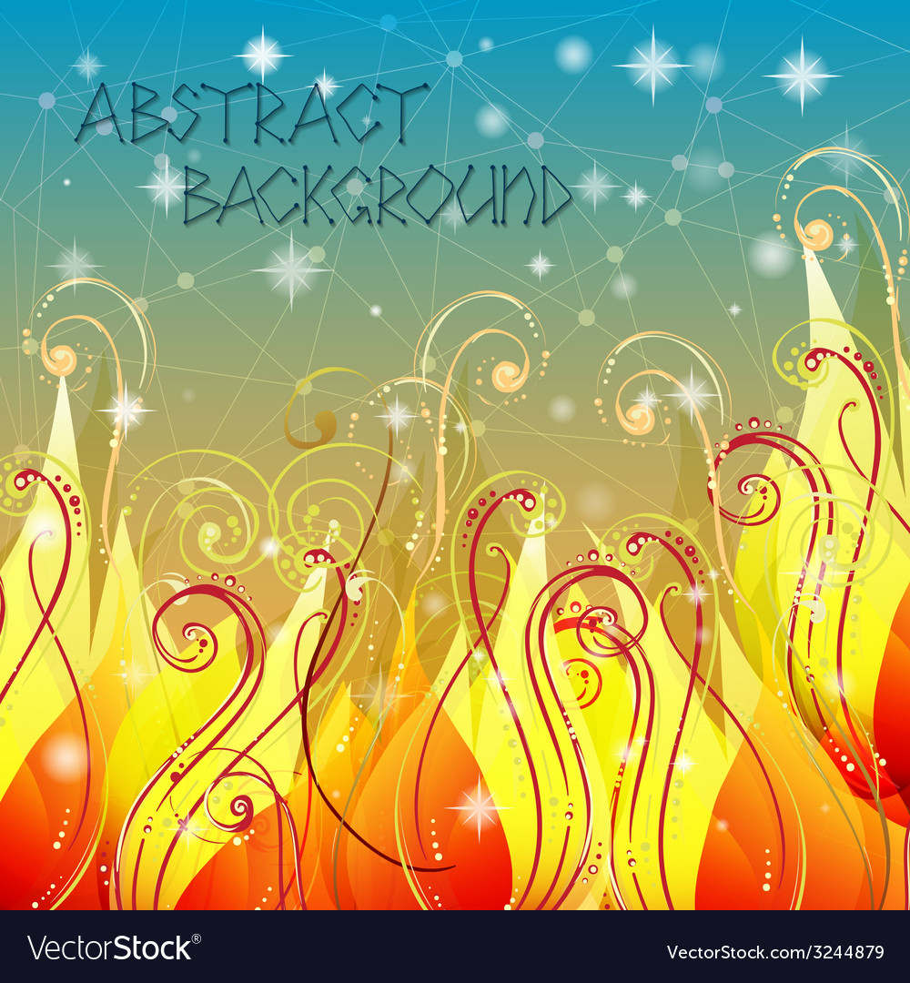 Fairy tale elegant abstract background in with vector | Price: 1 Credit (USD $1)