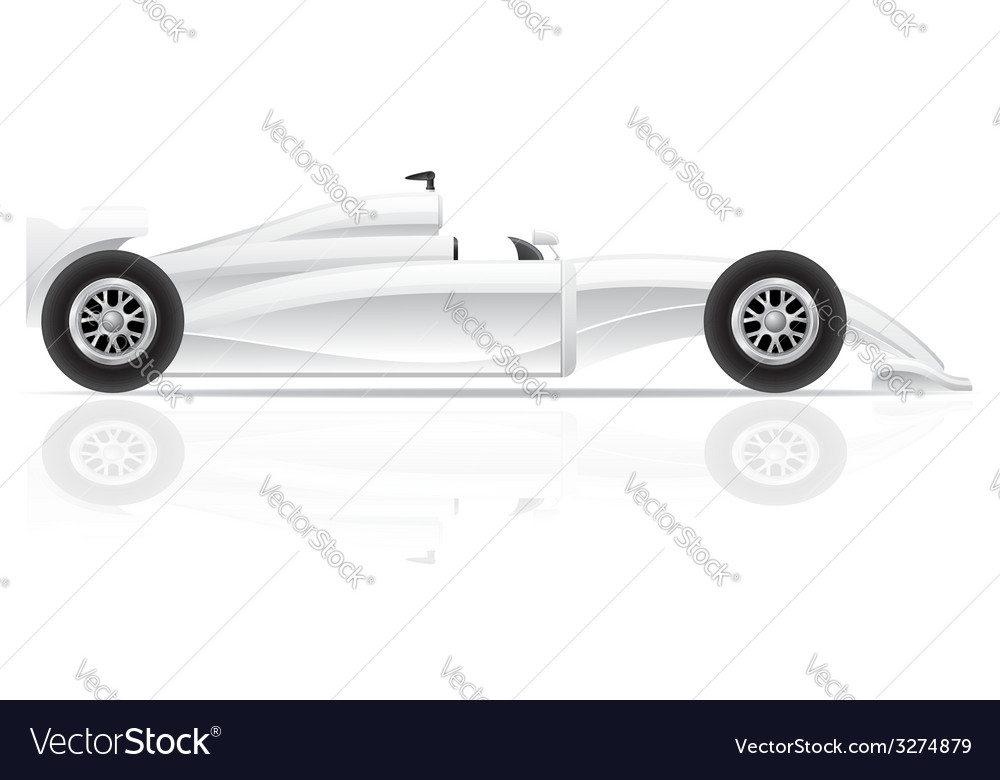 Sport car 01 vector | Price: 3 Credit (USD $3)