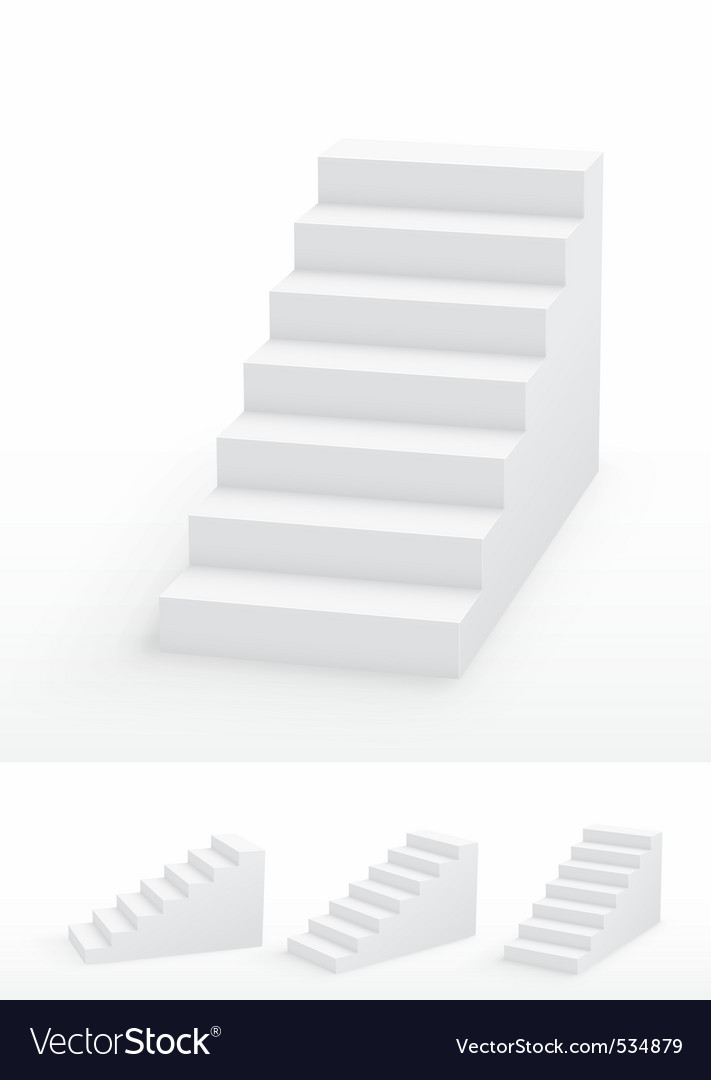 Staircases vector | Price: 1 Credit (USD $1)