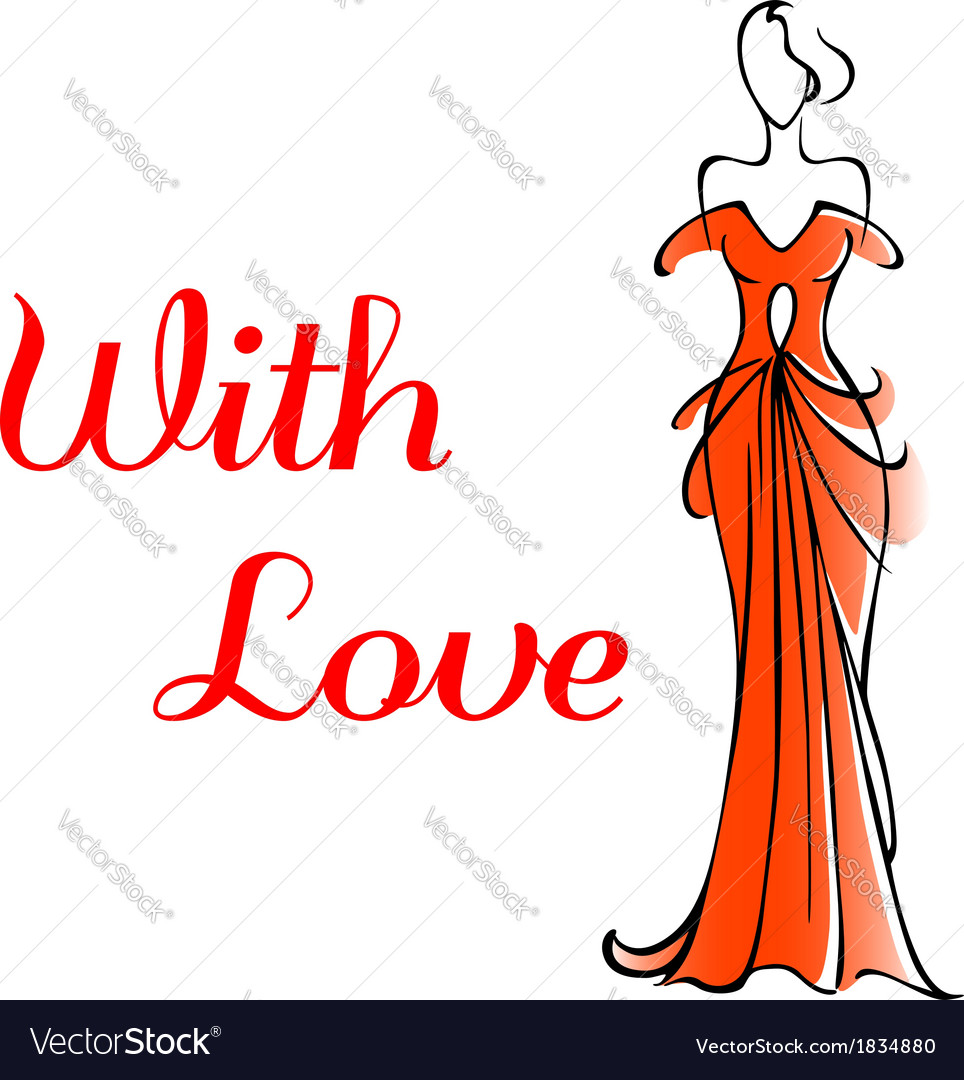 Elegant valentines card for a loved one vector | Price: 1 Credit (USD $1)