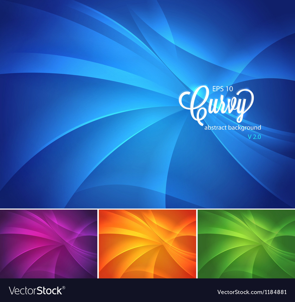 Curvy abstract background vector | Price: 1 Credit (USD $1)