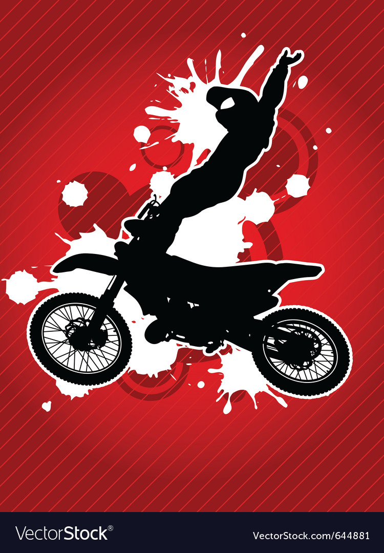 Motocross vector | Price: 1 Credit (USD $1)
