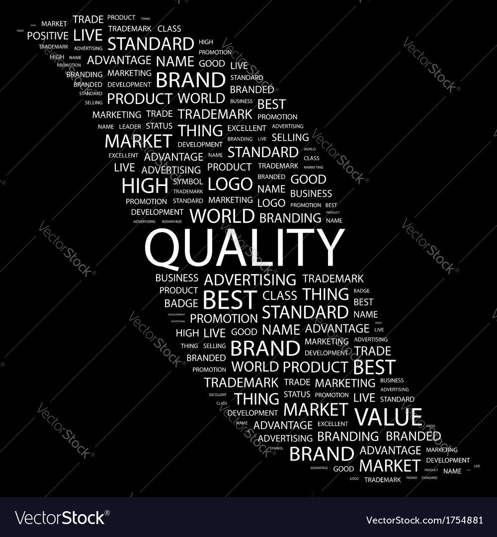 Quality vector   Price: 1 Credit (USD $1)