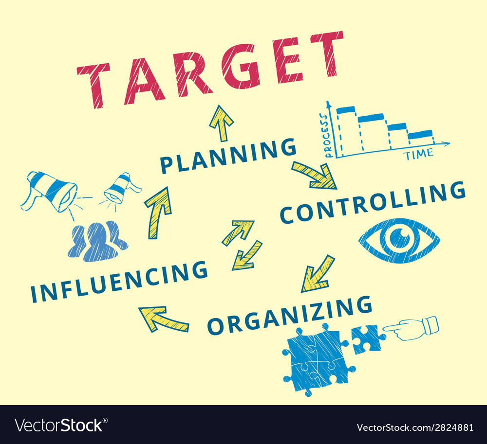 Target achievement vector | Price: 1 Credit (USD $1)