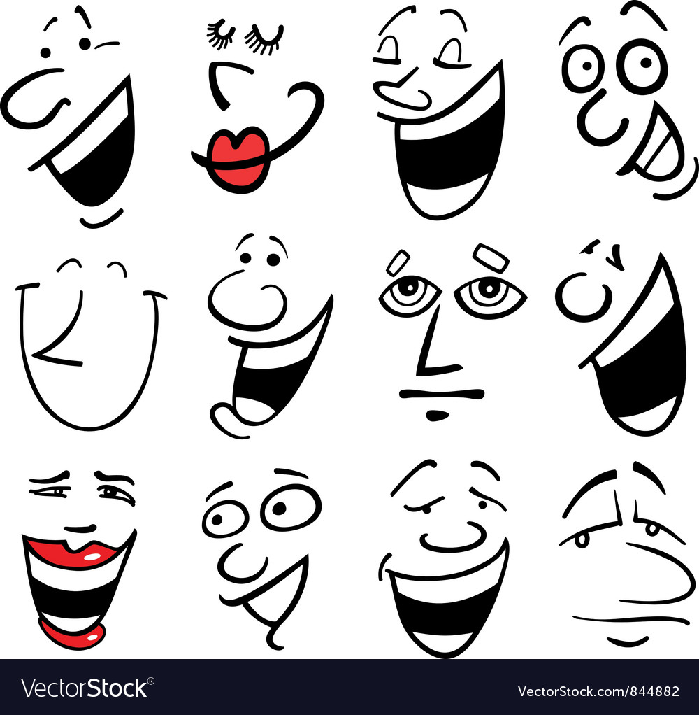 People emotions vector | Price: 1 Credit (USD $1)