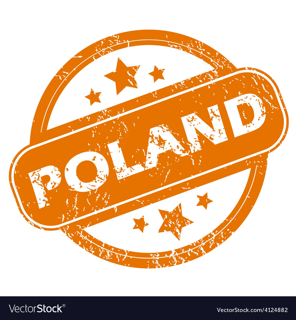 Poland grunge icon vector | Price: 1 Credit (USD $1)