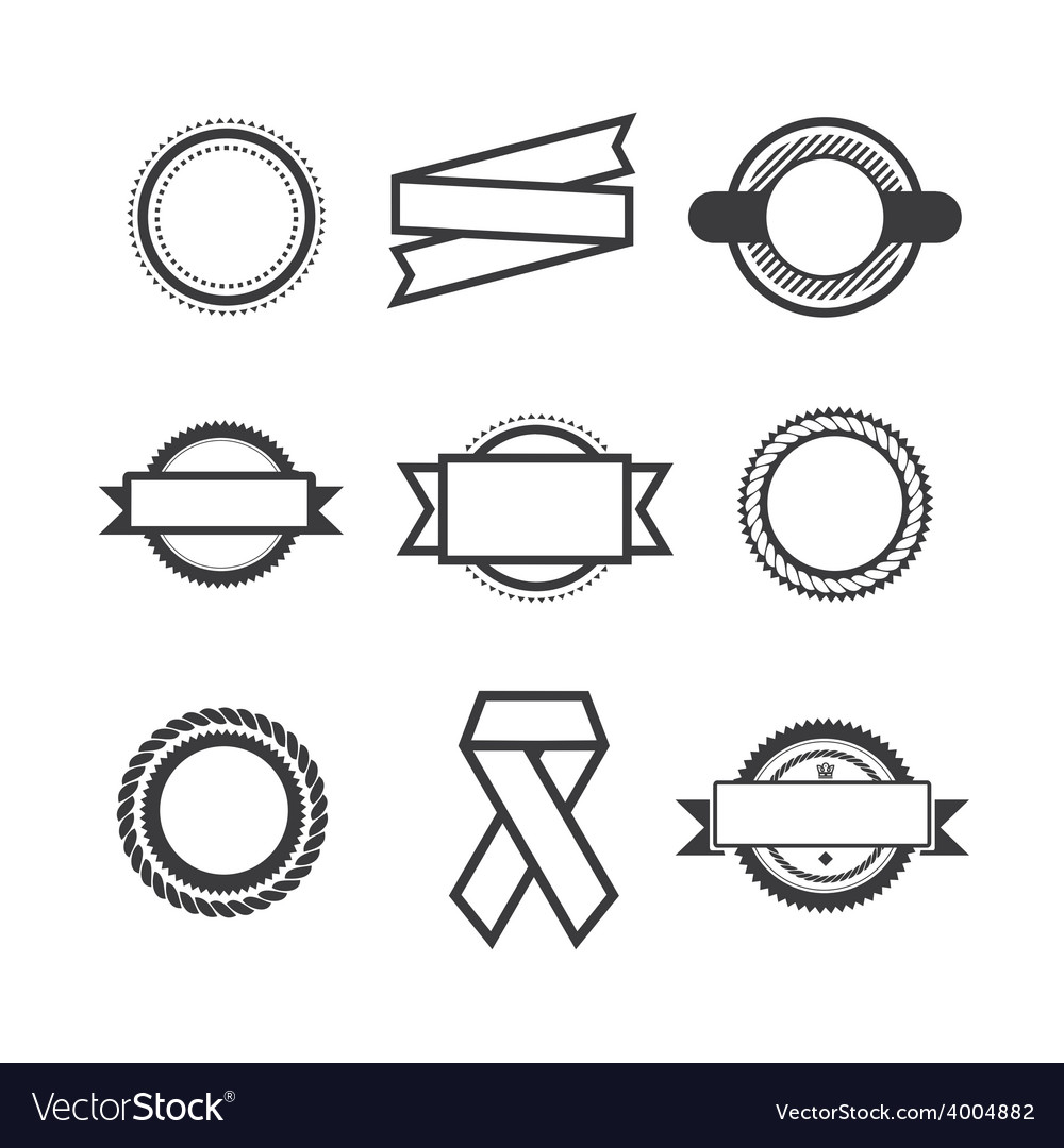 Set of logos vector | Price: 1 Credit (USD $1)