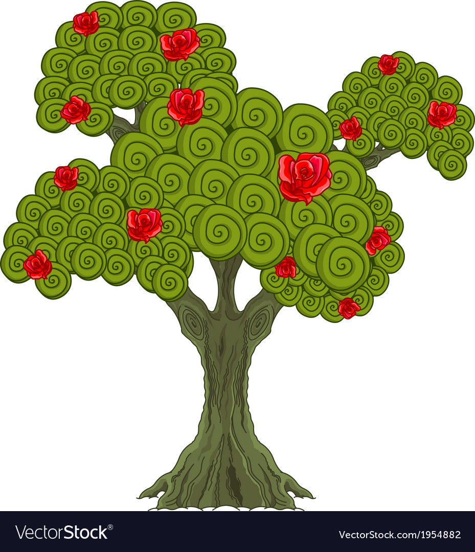 Wonder tree vector | Price: 1 Credit (USD $1)