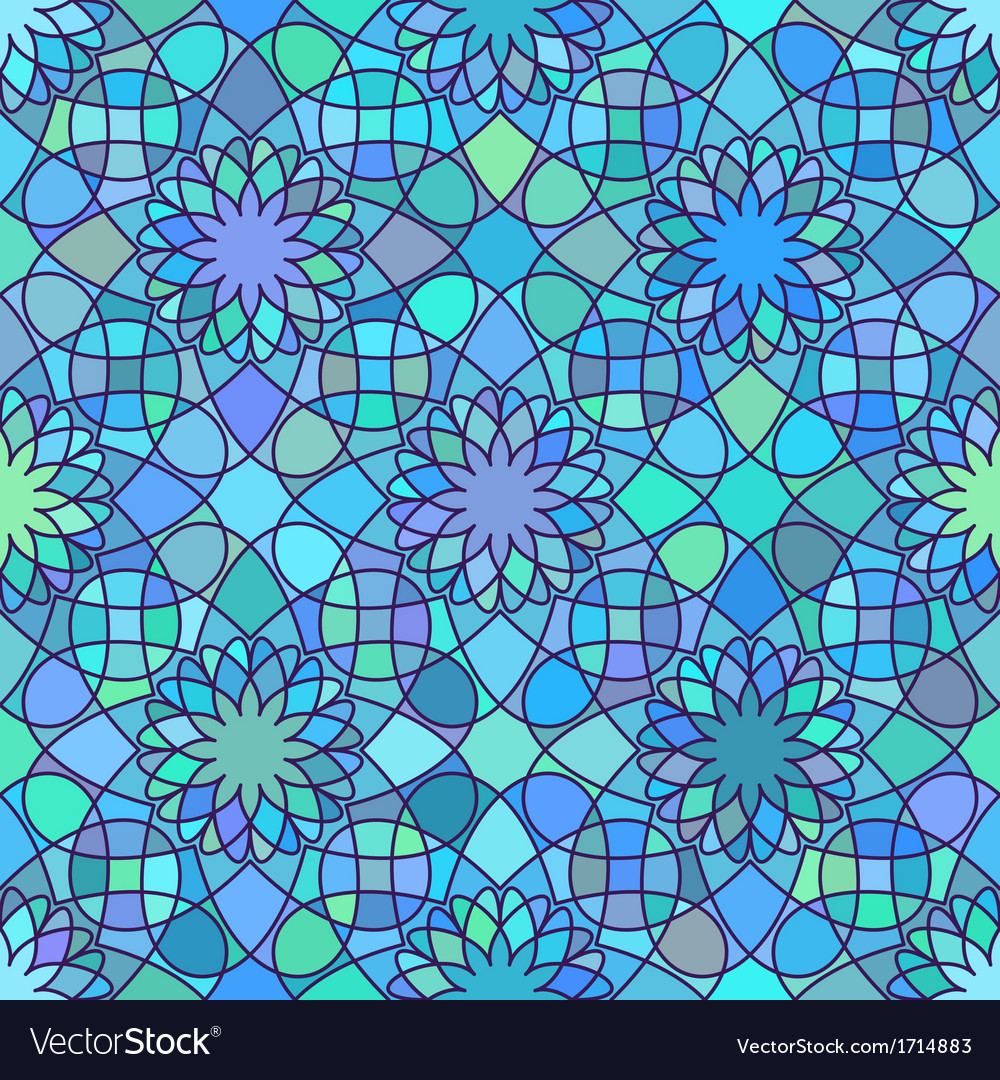 Ornament seamless pattern vector | Price: 1 Credit (USD $1)