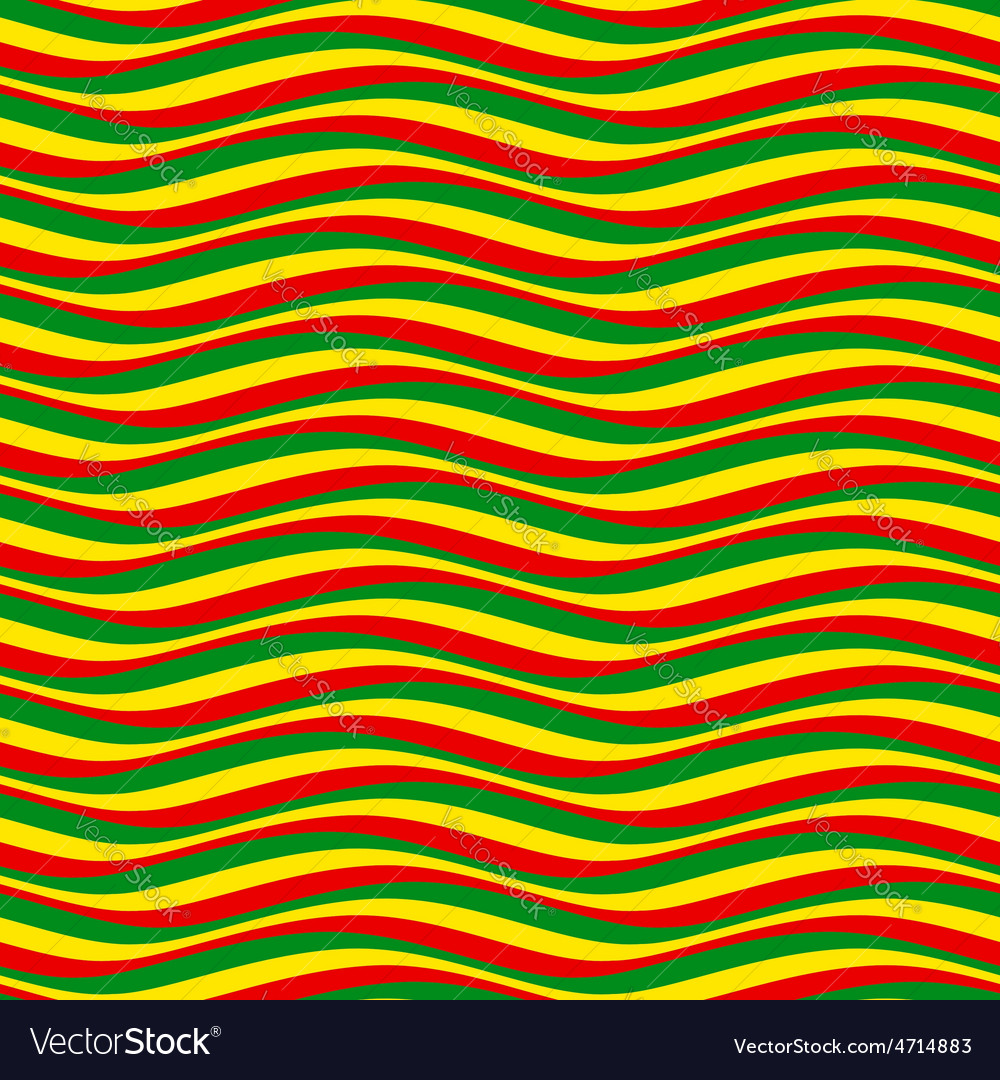 Pattern waves rasta vector | Price: 1 Credit (USD $1)